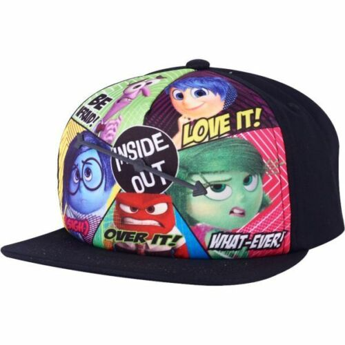Inside Out Spinner Adjustable Adult Baseball Cap Hat Snapback Flat Bill Black OSFM