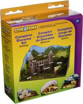 Woodland Scenics SP4197 Complete Buildings Creative Diorama Kit
