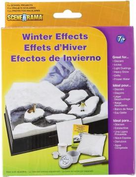 Woodland Scenics SP4123 Winter Effects Diorama Kit