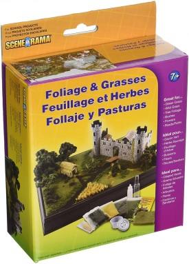 Woodland Scenics SP4120 Scene-A-Rama™ Foliage and Grasses Kit