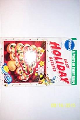 Easy Holiday Recipes #202  (Pillsbury) (Cookbook Paperback)