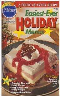 Classic #178: Easiest-Ever Holiday Menus (Pillsbury) (Cookbook Paperback)