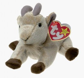 TY Beanie Baby - GOATEE the Goat