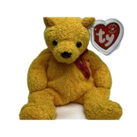 Ty Beanie Baby Poopsie The Yellow Bear (2004)