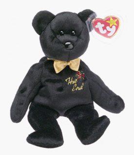 Ty Beanie Baby - The End 1999 Y2k Millennium Bear