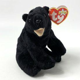 Ty Beanie Baby - Cinders The Black Bear (2000)