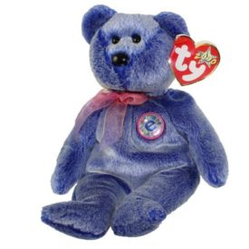 Ty Beanie Baby - Periwinkle the Bear 2000