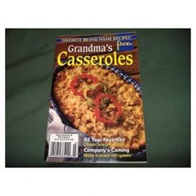 Favorite Brand Name Recipes Grandma's Casseroles (Southern Living Cooking School) (Cookbook Paperback)