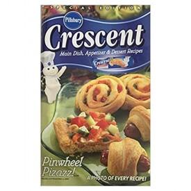 Crescent Main Dish, Appetizer and Dessert Recipes Pinwheel Pizazz Special Edition (Pillsbury) (Cookbook Paperback)