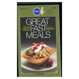 # 43 Great Fast Meals. Serve Tasty Entrees and One-dish Meals in Minutes. Microwave Recipes and Tips Included Too! (Pillsbury) (Cookbook Paperback)