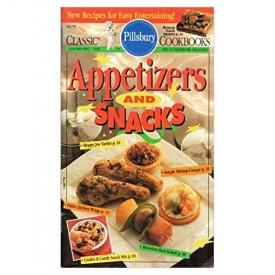 Appetizers and Snacks  (Pillsbury) (Cookbook Paperback)
