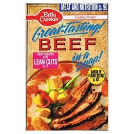 Betty Crocker Great Tasting Beef in a Snap (Betty Crocker) (Cookbook Paperback)
