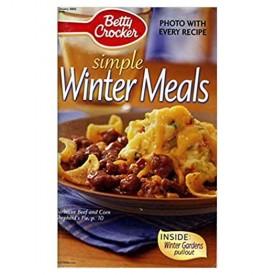 Betty Crocker Simple Winter Meals January 2003 #192 (Betty Crocker) (Cookbook Paperback)