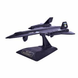 Motormax Die Cast Sky Wings 1:100 Aircraft Lockheed Martin SR-71 Blackbird