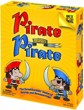 Out of the Box Pirate Versus Pirate Board Game