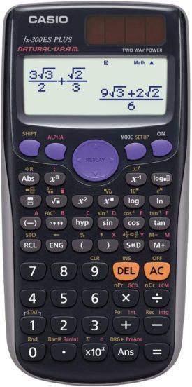 Casio fx-300ES PLUS Scientific Calculator, Black