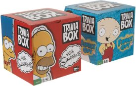The Simpsons and Family Guy Trivia Game Box Bundle Set