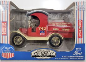 Gearbox Union Oil Company of California 1912 Ford Model T Oil Tanker Die Cast Collectible Bank 1:24 Scale