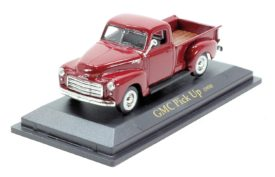 Road Signature 1:43 GMC Pick Up 1950 in Red - Diecast Model Car