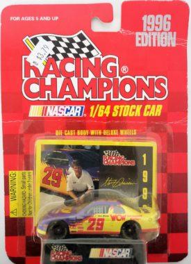 NASCAR #29 Steve Grissom WCW Chevy Monte Carlo 1996 Racing Champions 1:64 Diecast