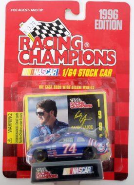 NASCAR #74 Randy Lajoie Fina Chevy Monte Carlo 1996 Racing Champions 1:64 Diecast