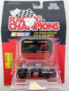 NASCAR #97 Chad Little Sterling Cowboy Pontiac Grand Prix 1996 Racing Champions 1:64 Scale