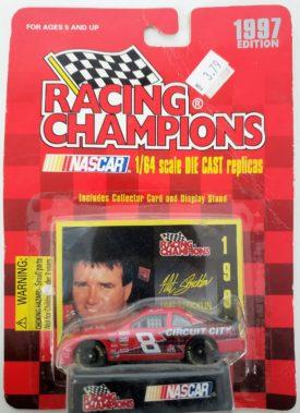 NASCAR #8 Hut Stricklen Circuit City Ford Thunderbird 1997 Racing Champions 1:64 Diecast