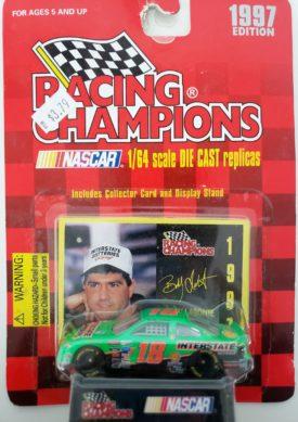 NASCAR #18 Bobby LaBonte Interstate Pontiac Grand Prix 1997 Racing Champions 1:64 Scale