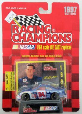 NASCAR #94 Ron Barfield New Holland Ford Thunderbird 1997 Racing Champions 1:64 Diecast