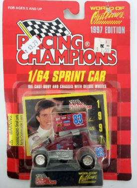 RACING CHAMPIONS Paul McMahon 1/64 Scale #83 Beef Packers Inc 1997 World of Outlaws Series Sprint Car