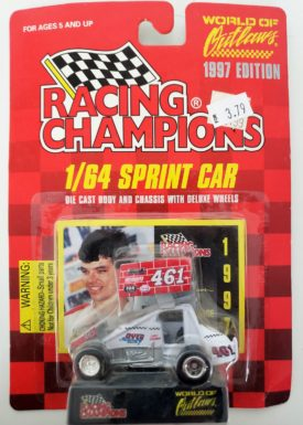 RACING CHAMPIONS Lance Dewease 1/64 Scale #461 Kriners Hawks 1997 World of Outlaws Series Sprint Car
