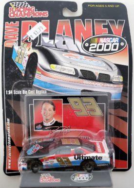 NASCAR #93 Dave Blaney AMOCO Pontiac Grand Prix 2000 Racing Champions 1:64 Diecast