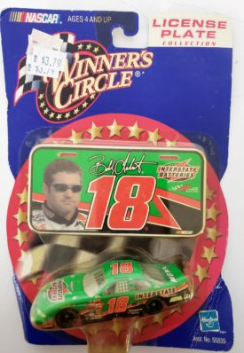NASCAR #18 Bobby Labonte Interstate Pontiac Grand Prix 2000 Winner's Circle 1:64 Diecast