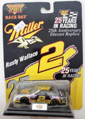 NASCAR #2 Rusty Wallace Miller Lite 25th Anniversary 1996 Revell Diecast 1:64