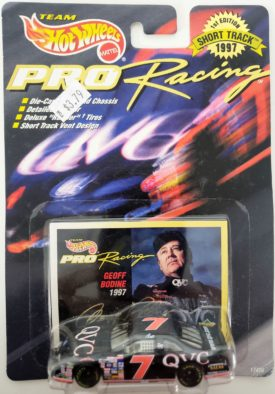 NASCAR #7 Geoff Bodine QVC For Thunderbird 1997 Hot Wheels Collector Pro Racing 1st Edition 1:64 Diecast