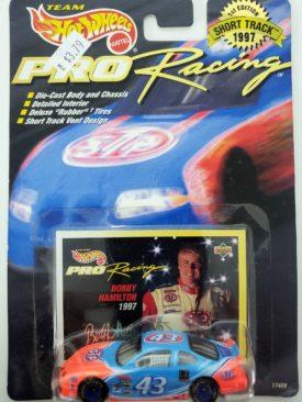 NASCAR #43 Bobby Hamilton STP Pontiac Grand Prix 1997 Hot Wheels Collector Pro Racing 1st Edition 1:64 Diecast