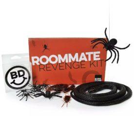 Roommate Revenge Kit Fake Bugs Gag Gift Prank 50 Roaches Spiders Snake by Bore Dumb