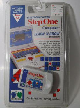 Vintage Step One Computer Team Concepts Learn 'N Grow ROM Cartridge B Game