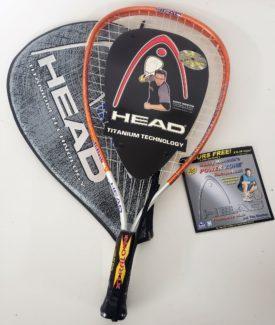 Head Ti.flash XL Titanium Racquetball Racquet Racket 3 5/8 With Case