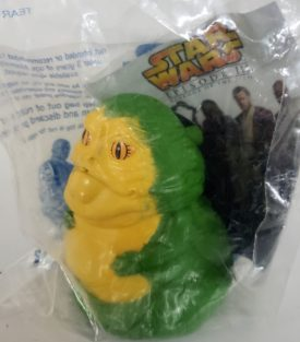 Star Wars Episode III Revenge of the Sith 2005 Burger King Toy - Jabba the Hutt