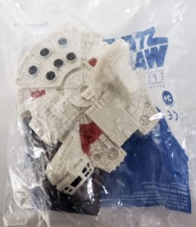 Star Wars Episode III Revenge of the Sith 2005 Burger King Toy - Millennium Falcon