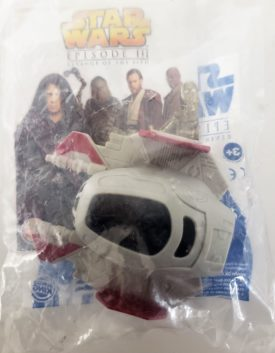 Star Wars Episode III Revenge of the Sith 2005 Burger King Toy - Jedi Starfighter