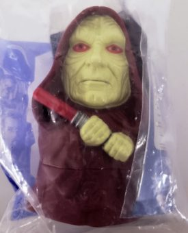 Star Wars Episode III Revenge of the Sith 2005 Burger King Toy - Emperor Palpatine