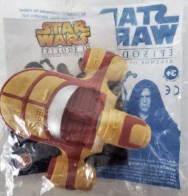 Star Wars Episode III Revenge of the Sith 2005 Burger King Toy - Land Speeder