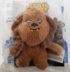 Star Wars Episode III Revenge of the Sith 2005 Burger King Toy - Chewbacca Plush