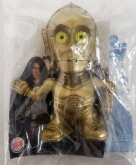 Star Wars Episode III Revenge of the Sith 2005 Burger King Toy - C3PO