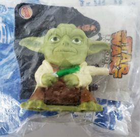 Star Wars Episode III Revenge of the Sith 2005 Burger King Toy - Yoda Wind-up Toy