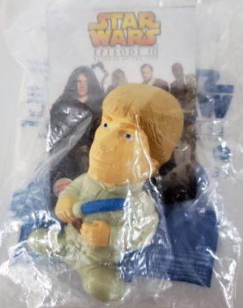 Star Wars Episode III Revenge of the Sith 2005 Burger King Toy - Luke Skywalker