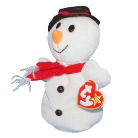Ty Snowball Snowman Beanie Baby