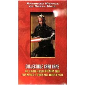 Star Wars Young Jedi Enhanced Menace of Darth Maul Collectible Card Game